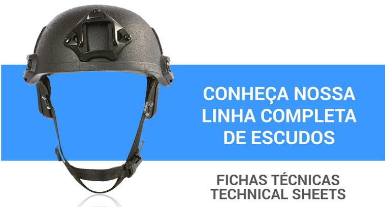linha completa capacetes